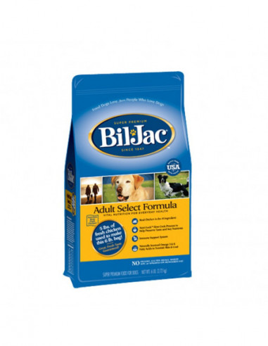 Bil Jac Select Adult Dog Food 2,7 Kg