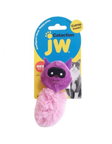 Cataction Raccoon Purple Jw Cat