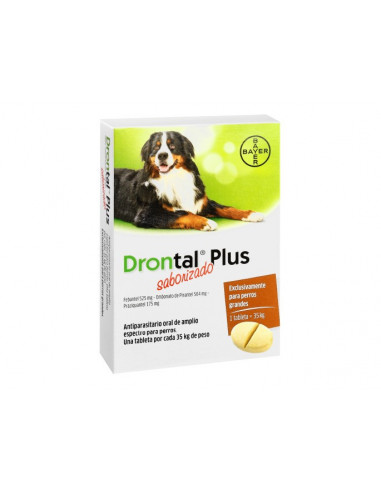 Drontal Plus Hasta 35Kg