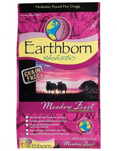 Earthborn Meadow Fest With Lamb Meal...