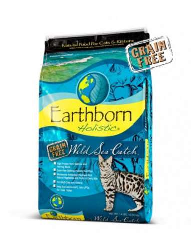 Earthborn Wild Sea Cath Feline 6,3 Kg