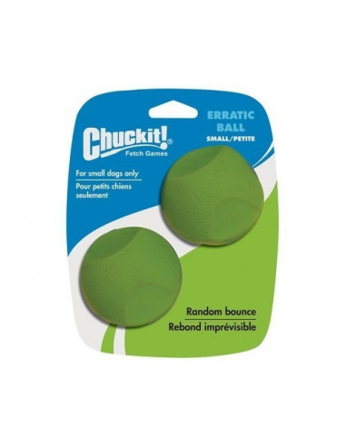 Erratic Ball 2 Pk Small