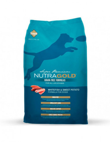 Nutra Gold Grain Free Adult Whitefish...