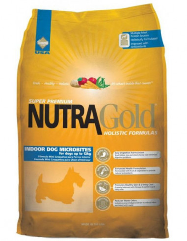 Nutra Gold Holistic Adult Microbites...
