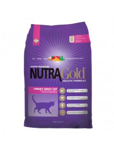 Nutra Gold Holistic Finicky Gato  3 Kg