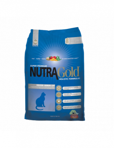 Nutra Gold Holistic Gato Senior 3 Kg