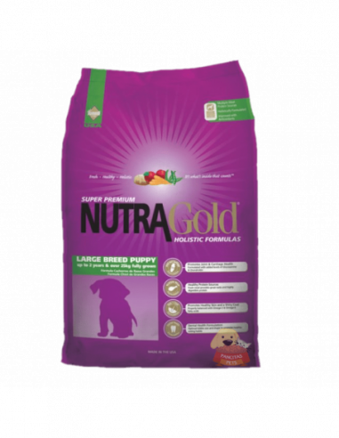 Nutra Gold Holistic Puppy Large Breed...