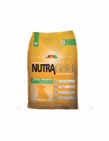 Nutra Gold Holistic Puppy Microbites...