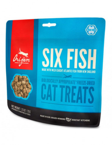 Orijen Treats Six Fish Gato 35G
