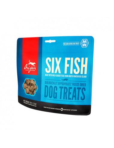 Orijen Treats Six Fish Perro 42.5Gr