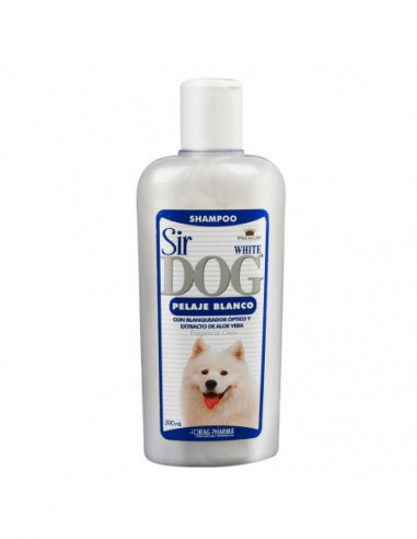 Shampoo Sir Dog Pelaje Blanco 390Ml