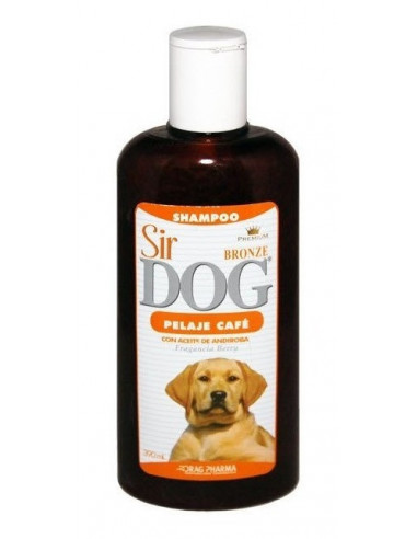 Shampoo Sir Dog Pelaje Café 390Ml