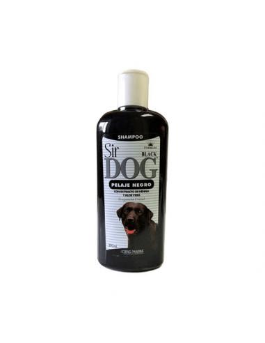 Shampoo Sir Dog Pelaje Negro 390Ml