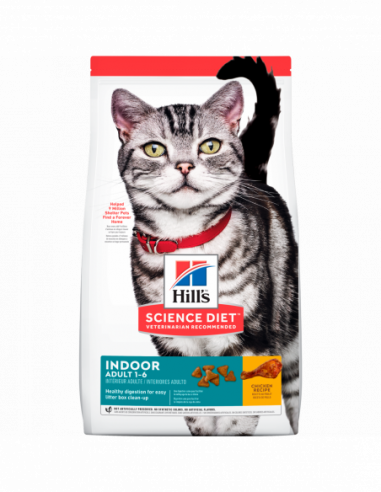 Hills Indoor Adult 1-6 1,58 Kg Feline