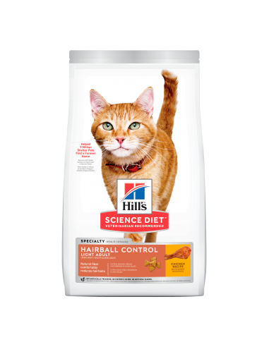 Hills Hairball Control Light Adult...