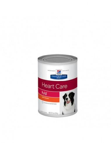 Hills Canine H/D Heart Care Latas 370 Gr