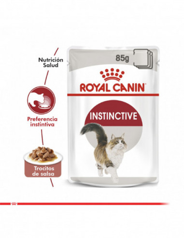 Royal Canin Adult Instinctive Pouch...