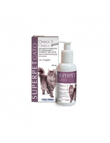 Superpet  Omega 6 Gato 125 Ml