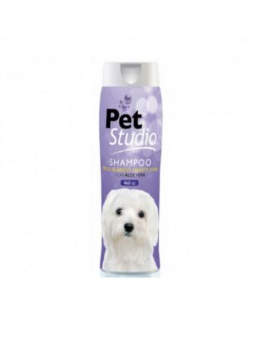 Shampoo Pet Studio Pelo Blanco Aloe...