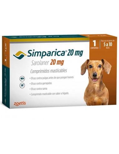 Simparica 20 Mg Caja 1 Tableta