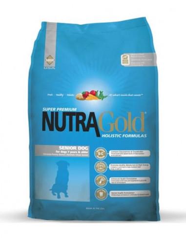 Nutra Gold Holistic Senior Perro 3 Kg