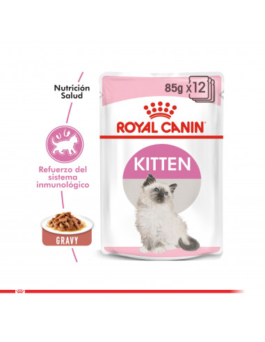 Royal Canin Kitten Pouch Caja 12 Und...
