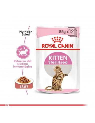 Royal Canin Gato Kitten Sterilised...