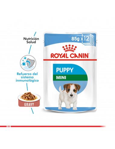 Royal Canin Mini Puppy Pouch Caja 12...