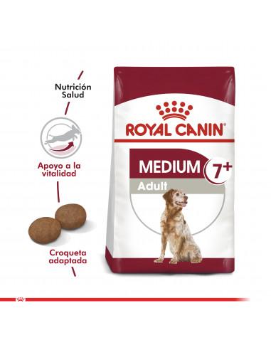 Royal Canin Medium Adulto 7+ 15 Kg