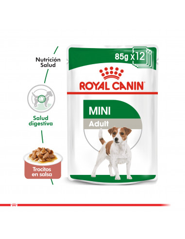 Royal Canin Mini Adulto Pouch Caja 12...