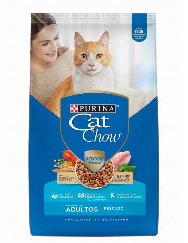 Cat Chow Gato Adulto Pescado 1 Kg