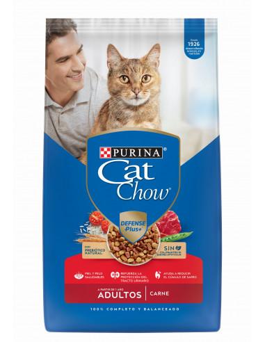 Cat Chow Gatos Adultos Carne 8 Kg