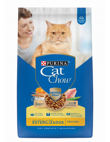 Cat Chow Gato Esterilizado Defense...
