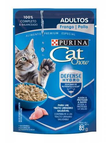 Cat Chow Sachet Gato Adulto Pollo