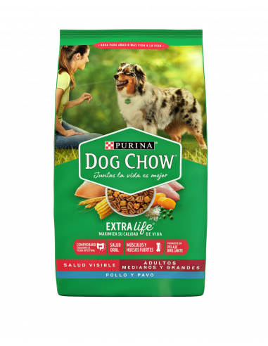Dog Chow Adulto Mediano y Grande...