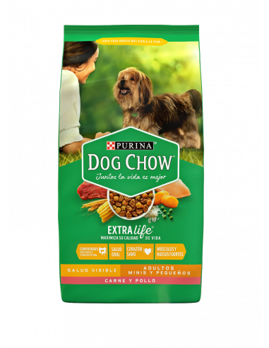 Dog Chow Adulto Minis Y Pequeños...