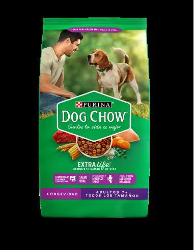 Dog Chow Adulto Longevidad 7+ 8 Kg
