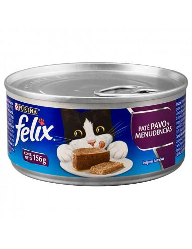 Felix Gato Original Pate de Pavo y...