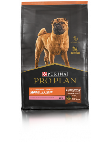 Pro Plan Sensitive Skin Dog Salmón 3 Kg