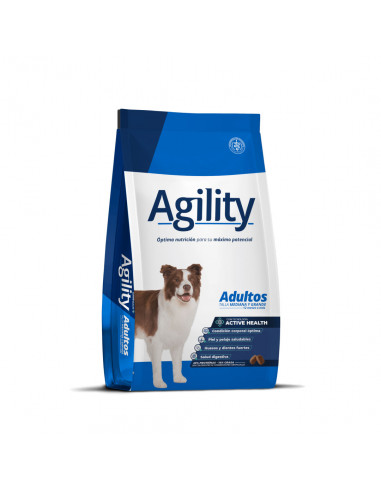 Agility Perro Adulto Raza Mediana y...