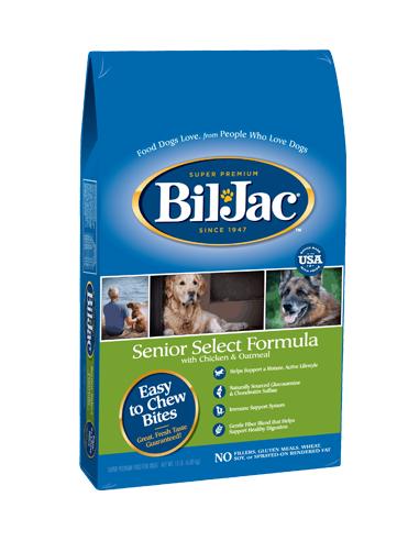 Bil Jac Senior Select Dog Food 13,6...