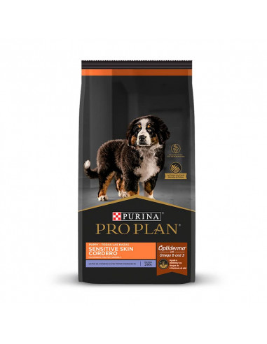 Pro Plan Sensitive Skin Puppy Cordero...