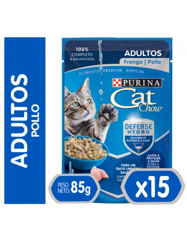 Cat Chow Sachet Gato Adulto Pollo (15...