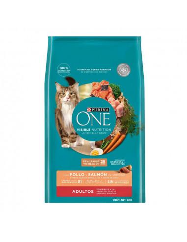 ONE Gato Pollo y Salmon 6 Kg